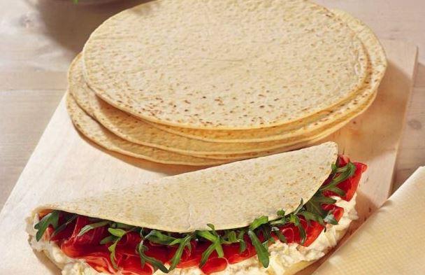 خبز التورتيلا الاسمر سالي فؤاد